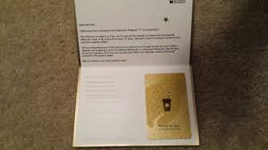 starbuck gold card starbucks gold card letter opening