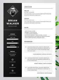 best resume template free 10 best free resume cv templates in ai indesign word psd formats