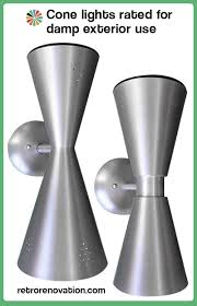 cone lights for d exterior use two new bowtie designs