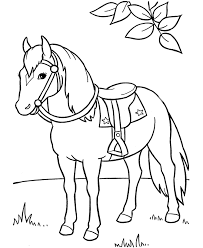 coloring page marvelous horse pics to color coloring pages