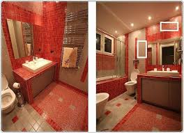 red bathroom floor tiles ideas and pictures