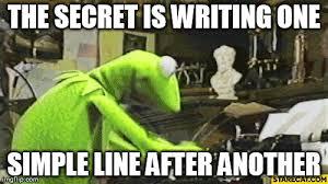 Typewriter Meme - kermit the frog typewriter memes imgflip