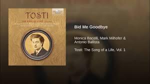 bid me bid me goodbye