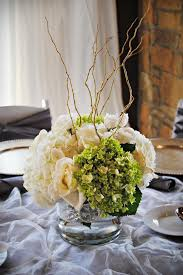 Curly Willow Centerpieces Ice Weddings Annateague