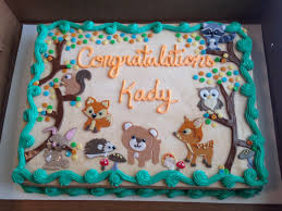 woodland creatures baby shower decorations decoration woodland animals baby shower cake