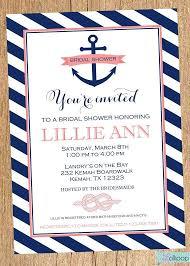 nautical themed wedding invitations nautical wedding shower invitations cloveranddot