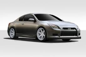 nissan altima coupe front lip nissan altima full body kits body kit super store ground
