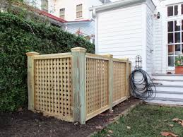 Trash House by Town U0026 Country Fences Llc Heating And Air Enclosure Or Trash Bin