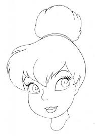 face sketch tinkerbell images reverse