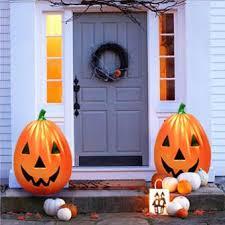 light up pumpkins for halloween halloween illumination 29 blow molded flatback light up pumpkin