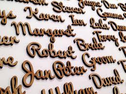 wedding table names favours placeholders vm bespoke ltd