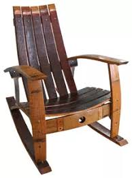 barrel adirondack chairs and stools