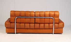 Brown Leather Sofa Bed Vintage Ds 85 Brown Leather Daybed From De Sede 1960s For Sale At