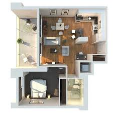 modern 1 bedroom apartments floor plan for 1 bedroom apartment pictures modern and incredible