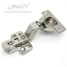 Kitchen Cabinet Concealed Hinges 50pcs 40mm Cup Clip On Hydraulic Concealed Hinge Cainbet Hinges