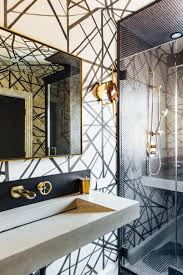 Bathroom Wallpaper Designs Wallpaper Design Modern Pattern Home Decor Kelly Wearstler
