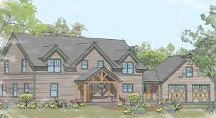 mountainside house plans timber frame home plans for the mountains by davis frame company