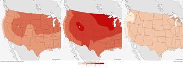 Colorado Snowpack Map Future Temperature And Precipitation Change In Colorado Noaa