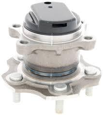 nissan rogue wheel bearing replacement amazon com 43202jg000 rear wheel hub for nissan febest