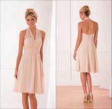 cheap pink bridesmaid dresses pink halter neck bridesmaid dresses sles pink halter neck