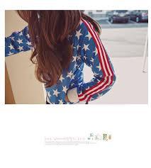 American Flag Cardigan Asian Fashion Korean Style Kpop Band 2ne1 Cl American Flag Stars