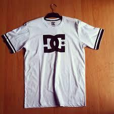 Baju Dc kaos dc putih