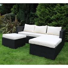 Rattan Patio Furniture Rattan Garden - l shaped wicker patio furniture home outdoor decoration