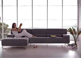 Sectional Sofa For Small Spaces by Small Space Modern Recliners Madison Modern Small Space Sectional