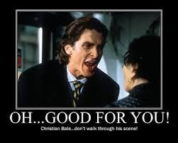 Christian Bale Axe Meme - christian bale axe meme