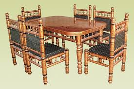 Chair Acacia Wood Dining Table Chairs Furniture Idea Wood Dining - Furniture dining table designs