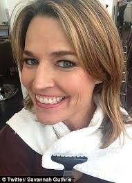 dylan on today show haircut savannah guthrie debuts red hair on today show ditches dirty