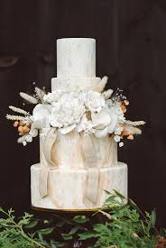 mid century bohemian wedding ontario farm wedding 100 layer cake