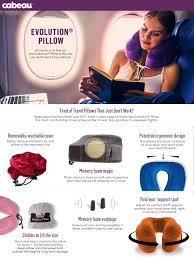 amazon com cabeau evolution memory foam travel pillow the best