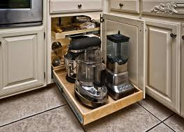 captivating storage ideas for small kitchens with brown floor