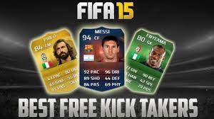best free fifa 15 best free kick takers