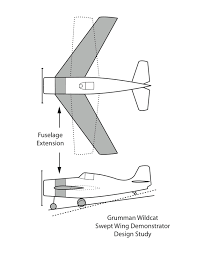 u s navy aircraft history bell l 39 wing sweep evaluation