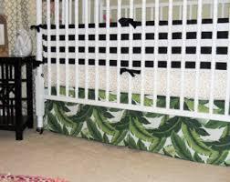 custom crib bedding in flamingo and palm leaves flamingo baby