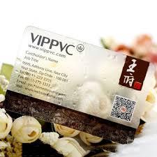 Clear Business Cards Pvc Transparent Business Card Clear Business Cards Gold Foil