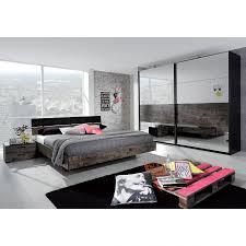 komplettes schlafzimmer gã nstig futonbett sumatra 140 x 200cm schwarz vintage braun