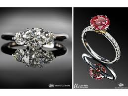 rings colored stones images Three stone diamond engagement rings and colored diamonds on jpg