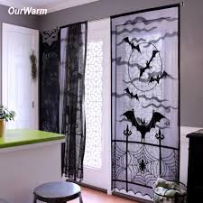 online get cheap halloween window curtains aliexpress com