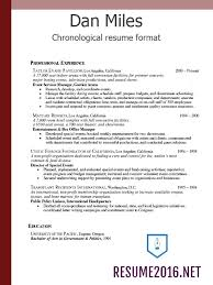 resume formats 2016 which one to choose u2022