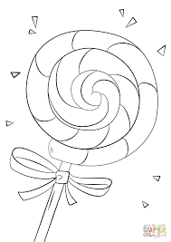 lollipop coloring page free printable coloring pages