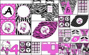 hello party supplies printable diy personalized party supplies hello theme