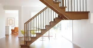 U Stairs Design U Shaped Staircase With One Landing House Renovations