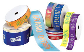 awards ribbons custom st printed ribbon rolls