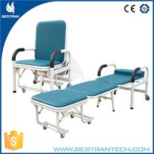 Folding Chair Bed China Bt Cn003 Hospital Metal Folding Chair Bed Convertible