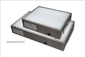 porta trace light box gagne porta trace stainless steel led light box 18 x24 led light