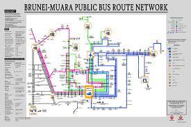Bus Route Map Getting Around In Brunei 2017 Brunei Travel U0026 Tourism Jeutravel