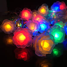 flashing night light bulbs find more led string information about romantic rose flower led